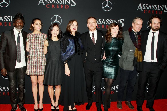 "- New York, NY - 12/13/16 -Twentieth Century Fox and New Regency Productions Present a Special Screening of ""Assassins Creed"" - Pictured: Cast of Assassins Creed - Photo by: Dave Allocca/Starpix -Location: AMC Empire"